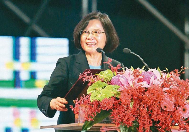 中美關係緊張 彭博:蔡英文國慶演說呼應美方批中