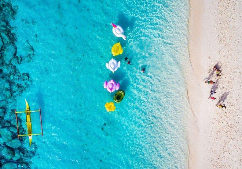長灘島被治癒了!半年沒遊客汙染現在美呆