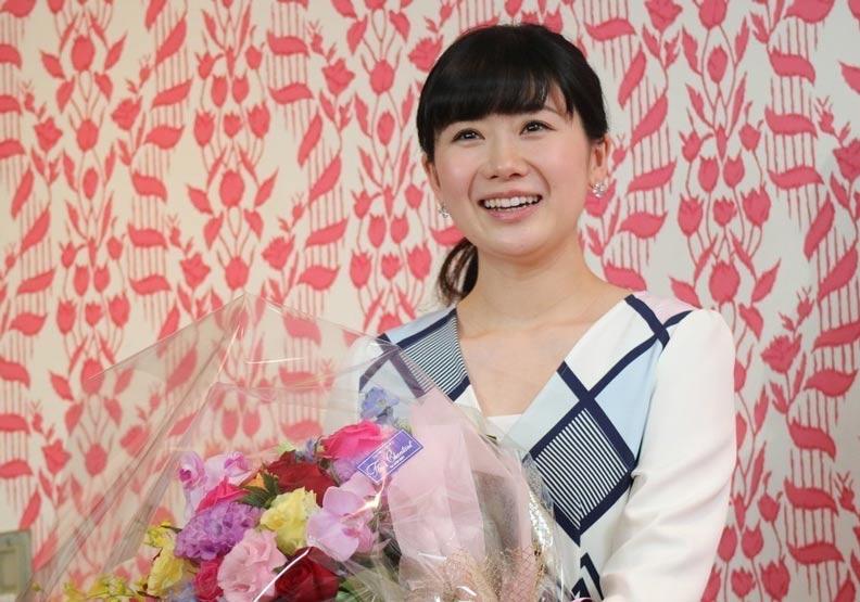 宣布退休後露出幸福微笑 福原愛樂得做台灣媳婦