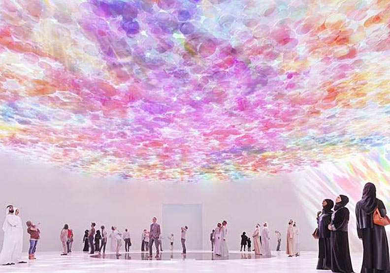 上千片粉彩玻璃重疊!2020世博英國館的遺珠之憾