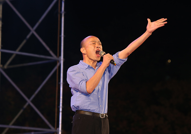 「賣菜郎」大戰民進黨200天  韓國瑜選戰打到全國最高潮