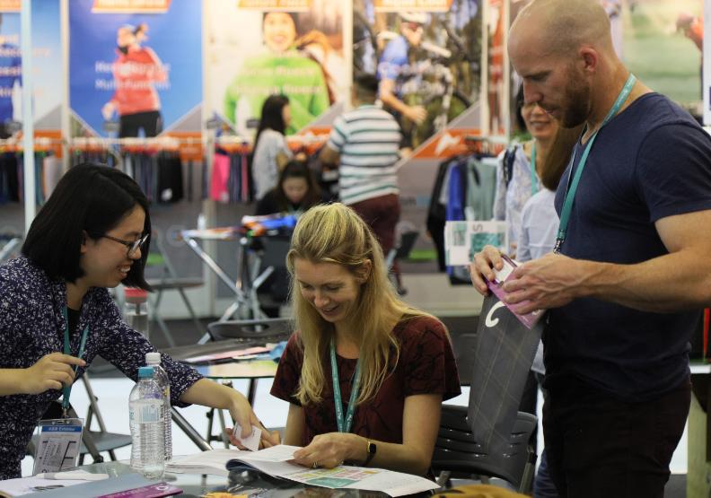 國際買家雲集  創新紡織品備受青睞