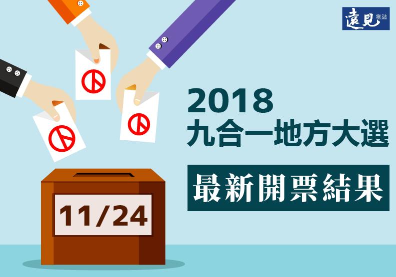 2018九合一地方選舉,各縣市最新當選名單看這裡!