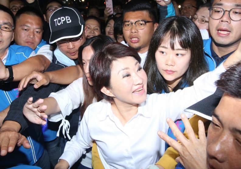 不敗女將盧秀燕再添勝績 媽媽市長力拚新好台中