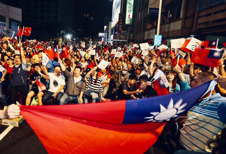 台灣的統治階級歷經全民直選而重組。遠見張智傑攝