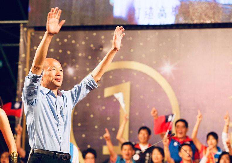 一瓶礦泉水  讓世界看見台灣的民主奇蹟