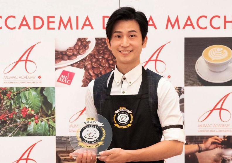 他靠這招擠下14國好手,奪得頂級義式咖啡冠軍!