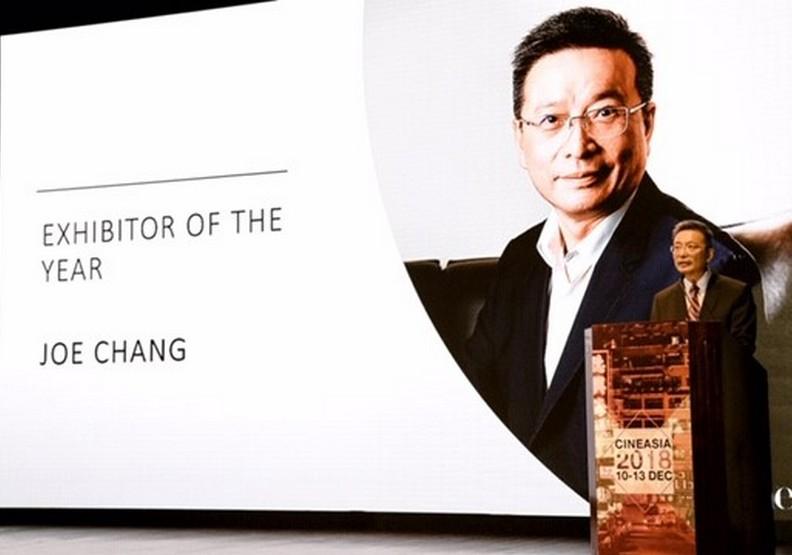 台灣第一人!國賓影城獲亞洲年度最佳戲院經營者