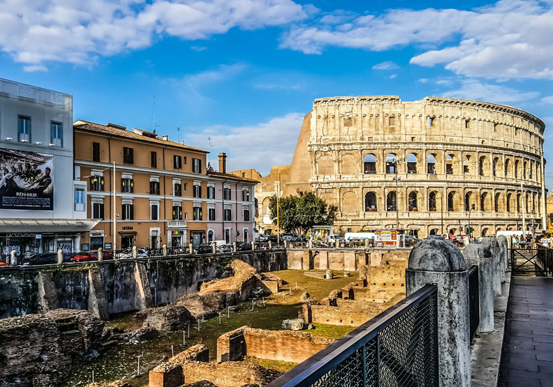 行程規畫全部放手給女兒!一家人的羅馬假期
