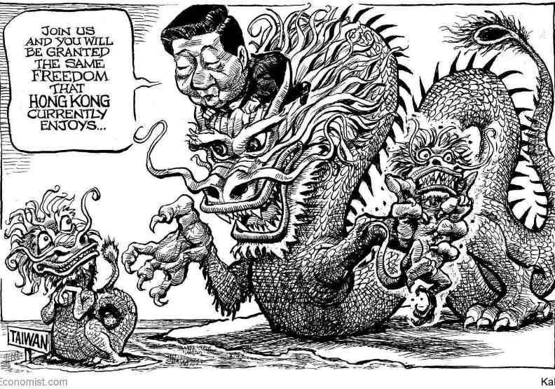 台灣要接受一國兩制嗎?《經濟學人》用一張圖「勸退」