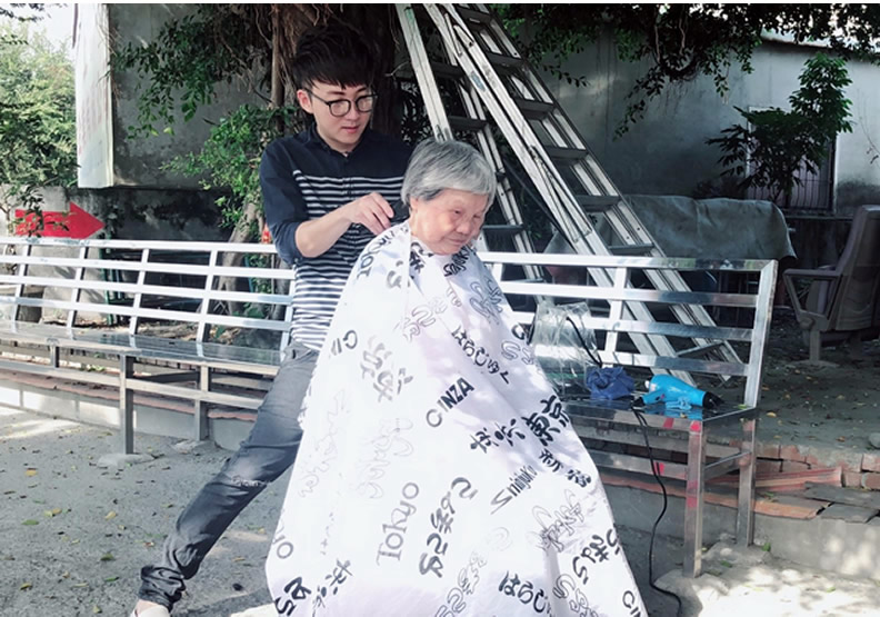 溪州斜槓美髮師 以愛剪出不一樣的人生
