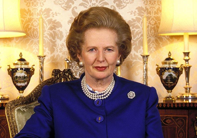柴契爾堅定一句「本夫人絕不轉彎」英國士氣高漲