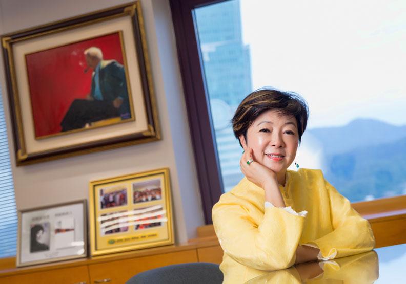 張忠謀退休、她卻更忙碌 張淑芬鼓舞企業接力傳愛