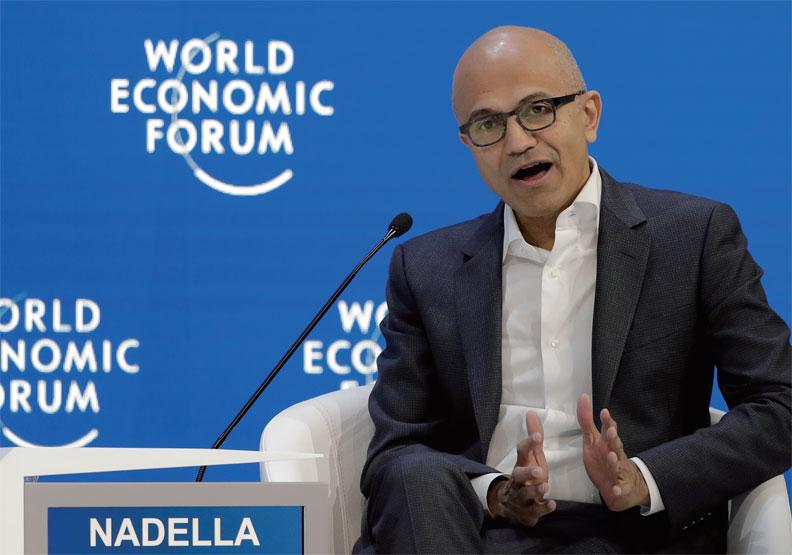 微軟執行長納德拉:用創新力迎戰全球化4.0
