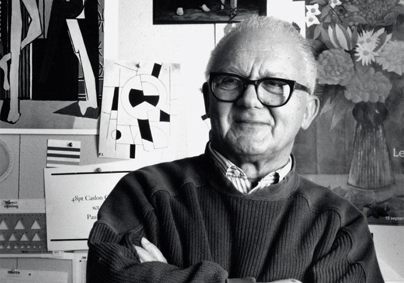曾為賈柏斯、IBM設計logo!他被譽為美國設計師教父