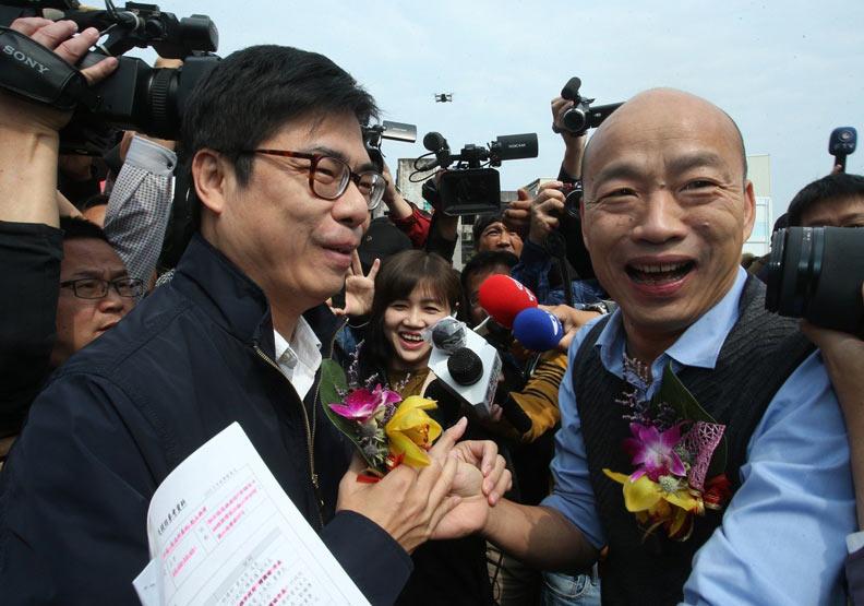 4月不領表參選2020 韓國瑜受訪稱:做滿4年市長任期