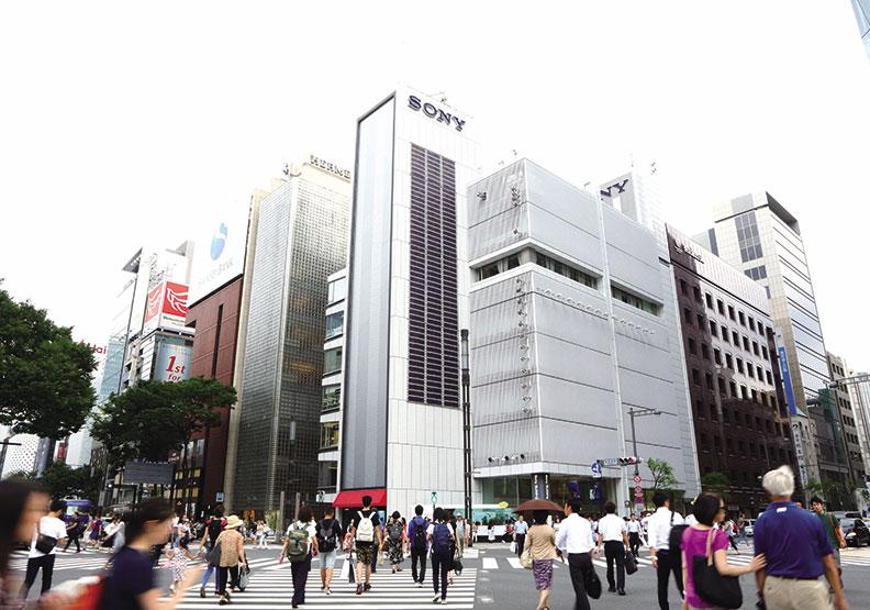 走入歷史的Sony大樓,花瓣式建築結構蘊藏50年情懷
