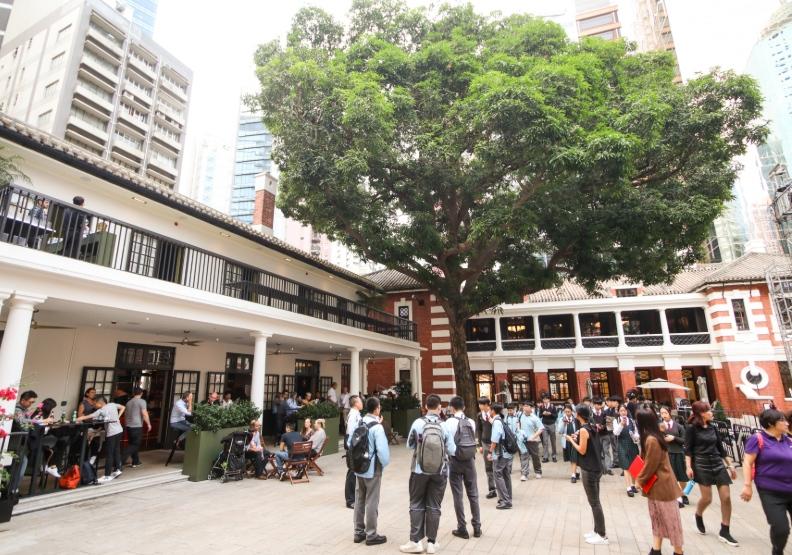 百年「大館」重現風華  港台活化古蹟成熱點