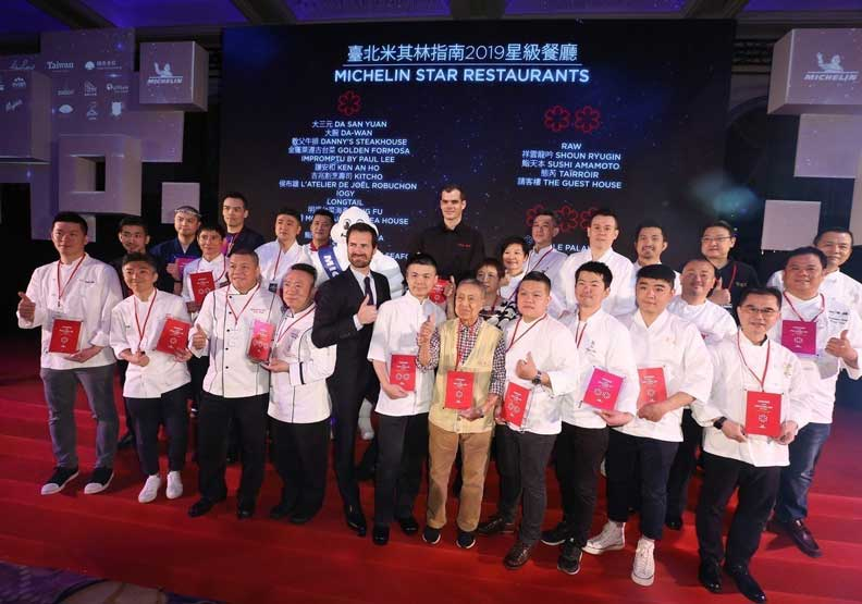《台北米其林指南2019》星級美食餐廳完整名單搶先看