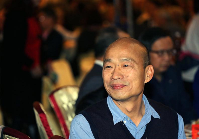 韓國瑜宣布:此時此刻我無法參加現行制度的初選!