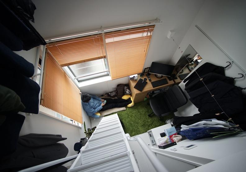 微型公寓的概念近幾年竄起。