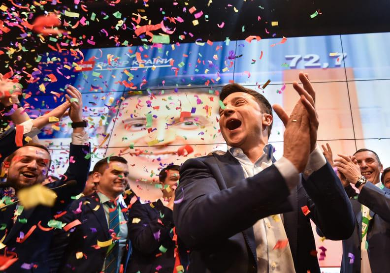 用喜劇笑看人生!烏克蘭總統當選人的故事