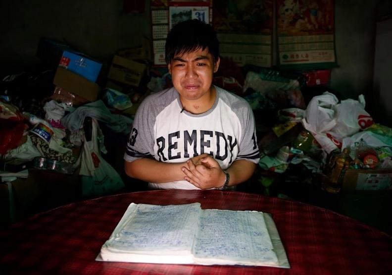 不寫下就會忘記!台灣「筆記本男孩」的動人故事