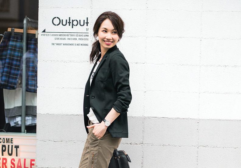 正式、休閒一件搞定!日本女子推薦的西裝外套穿搭法