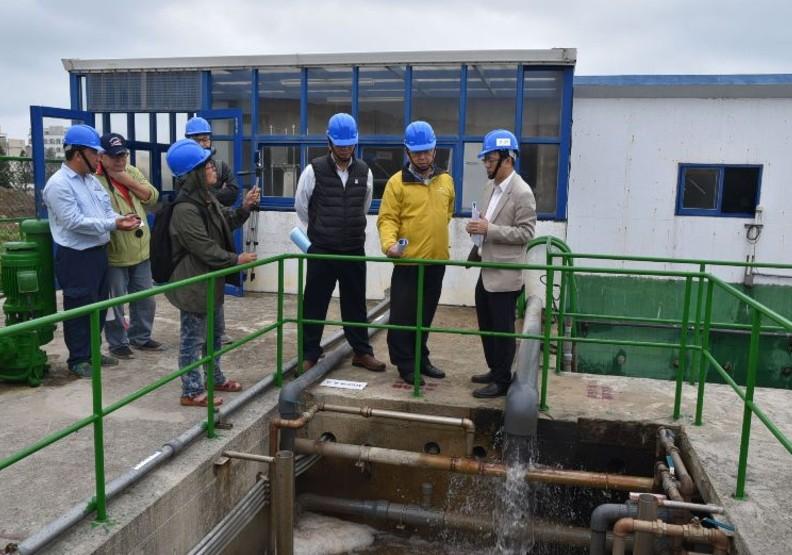澎湖汙水整治有成  縣長宣示2022年汙水截流完成率60%