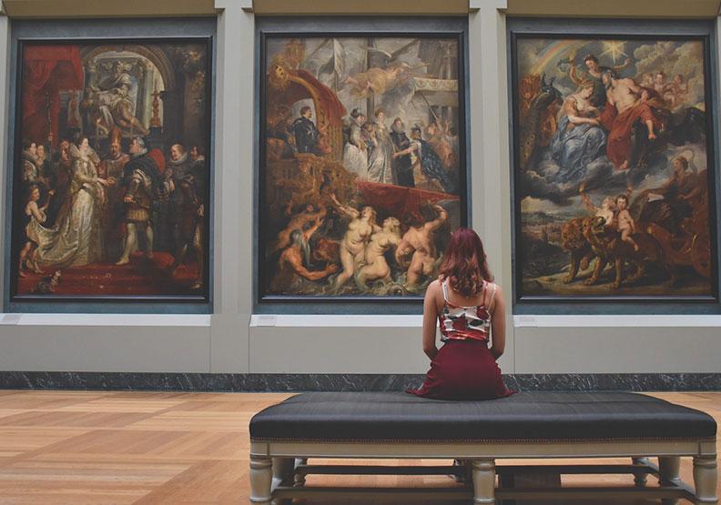 為什麼英國在西洋美術史上,缺席這麼久?