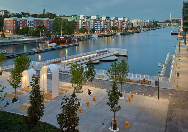 擺脫工業廢墟地惡臭之名!瑞典的哈默比濱湖迎來最棒的視角