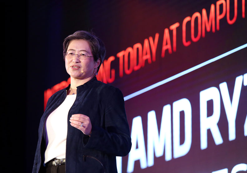 台裔女總裁蘇姿丰攜手電子五哥,重新定義「MIT」
