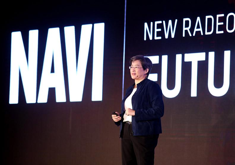 台裔女總裁蘇姿丰攜手電子五哥,重新定義「MIT」。張智傑攝