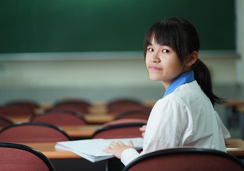 葉沛嫻主攻跨域課程 同時扛起家計與課業