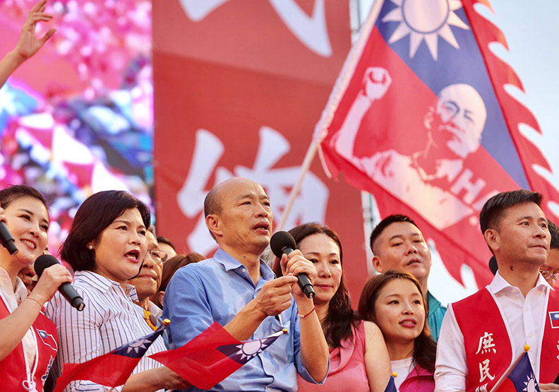 韓國瑜憑什麼讓「紅衫軍」浪潮再現凱道?