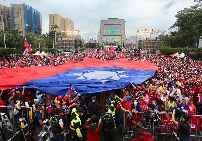 台灣是「命運共同體」,無法分割,僅為情境配圖。遠見張智傑攝影