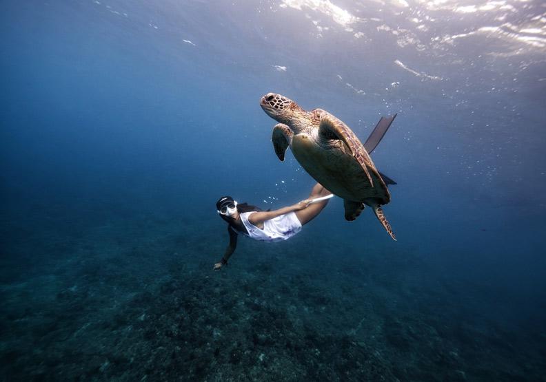 難以忘懷的恐懼經歷,開啟她23歲守護海洋之美的旅程