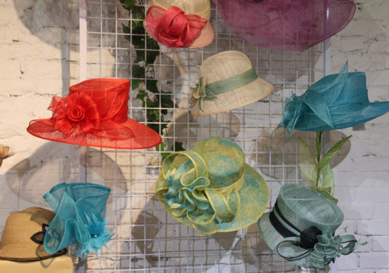 許多最頂級的材質,只有我們能生產!來自台灣的高級帽飾