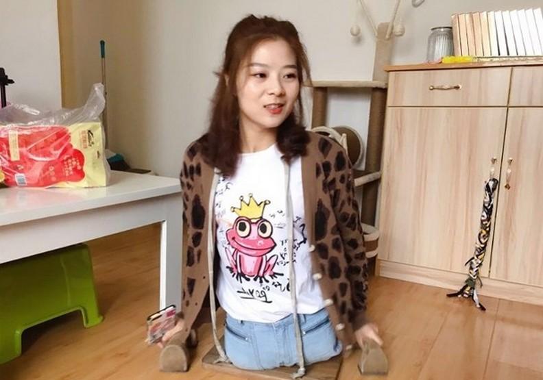 樂觀的樣子最美!無腿女孩殘而不廢的感動故事