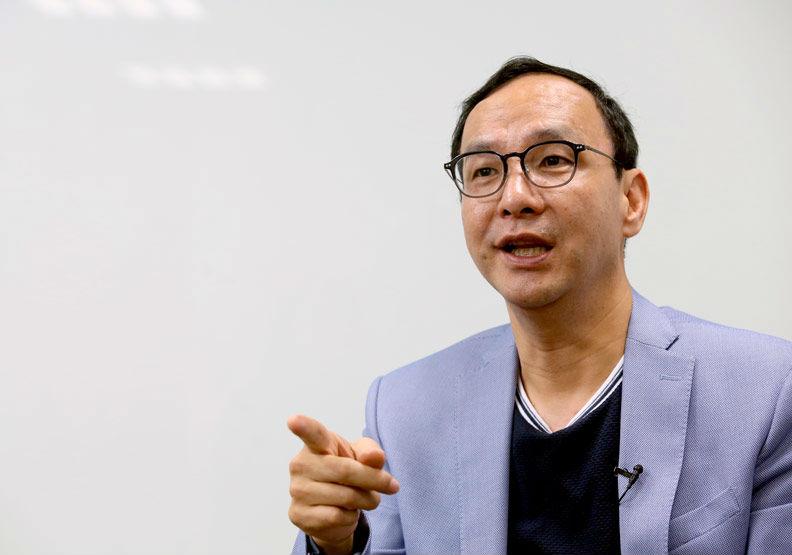 朱立倫:民粹政治再走下去,台灣會變成烏克蘭
