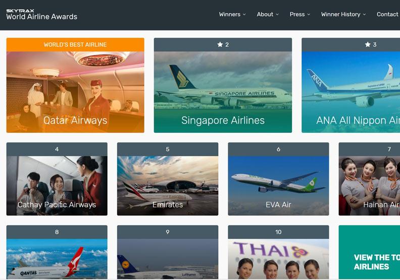 航空界奧斯卡揭曉!台灣哪家航空擠進前十?