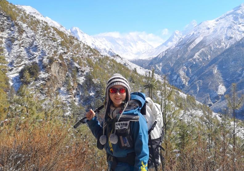 海拔8000公尺高峰已征服4座!詹喬愉:登山最浪漫的,是享受那辛苦過程的感動
