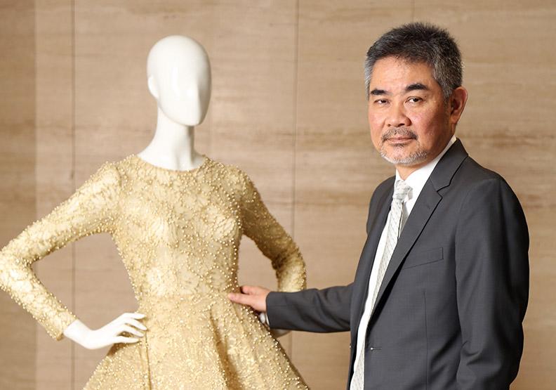 亞伸客製化奢華婚紗 靠緬甸繡工縫出新商機