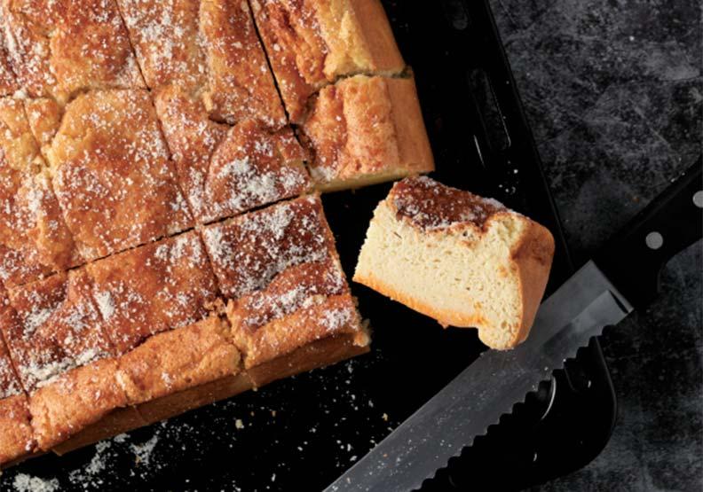 不用麵粉就能做的低醣甜點:古早味起司海綿蛋糕