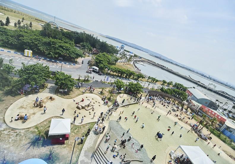 新竹假日要去哪?「微笑水岸」成打卡新熱點!