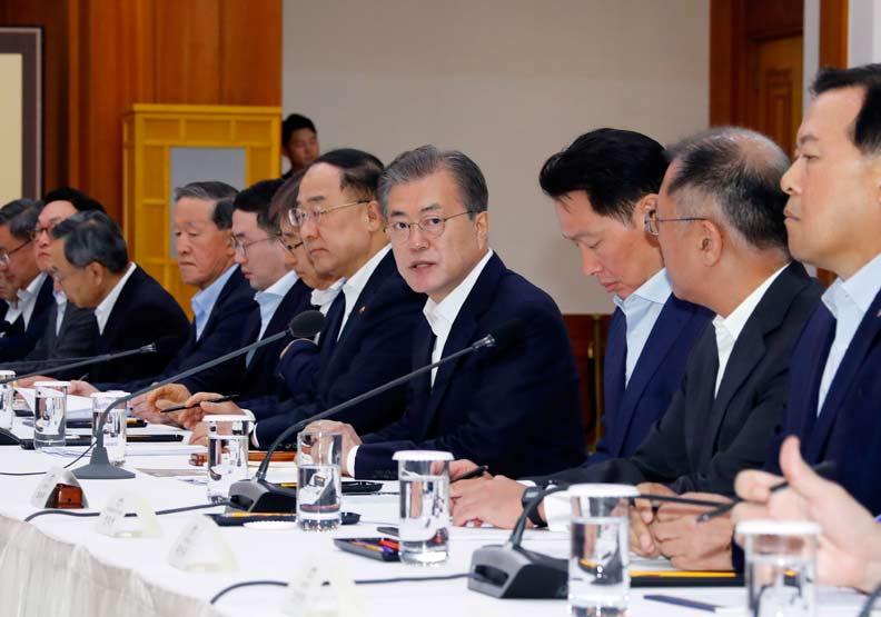 日韓貿易衝突發生中!文在寅警告商界「緊急狀況」