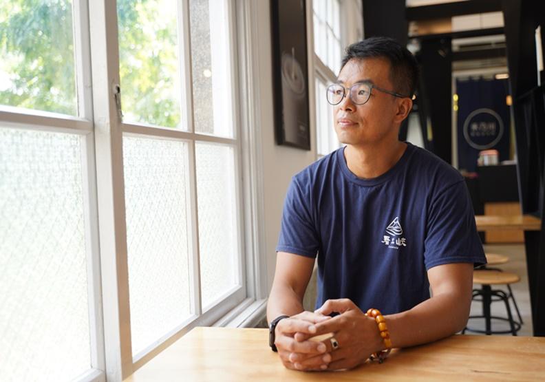告別繽紛影視圈,林峻丞打造三峽社區支援網絡