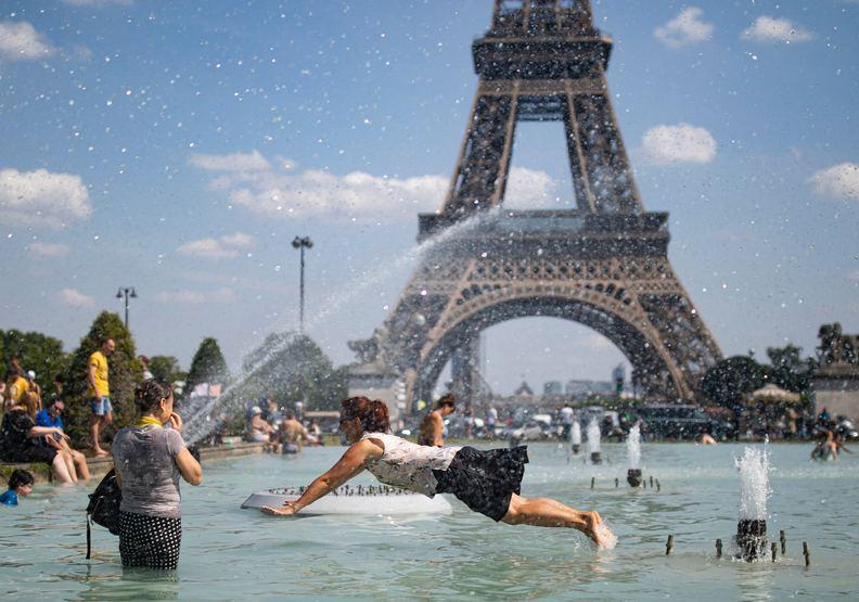整個歐洲就像蒸籠!地獄級熱浪創史上最熱紀錄