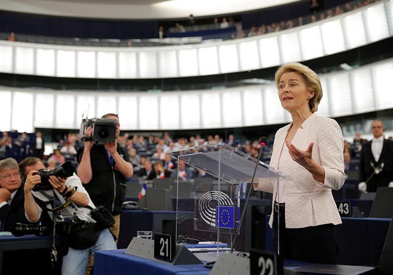 烏蘇拉:我們要再次奮戰,這世界需要更多的歐洲