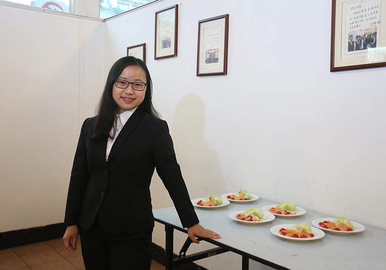 從實驗課程摸索樂趣  汪俞瑩磨出統合溝通力